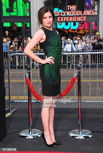 Actress Kathryn Hahn arrives at the Los Angeles Premiere 'This Is Where I Leave You' at TCL Chinese Theatre on September 15 2014 in Hollywood...