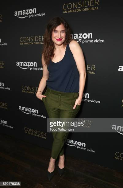 Actress Kathryn Hahn at Amazon Studios Emmy FYC event for I Love Dick at The Hollywood Athletic Club in Hollywood on April 19 2017 in Hollywood...