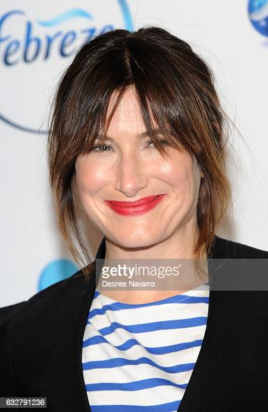 Actress Kathryn Hahn attends 'I Love You But Sometimes You Stink Febreeze Campaign Launch' at The IAC Building on January 26 2017 in New York City