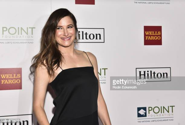 Actress Kathryn Hahn attends Point Honors Los Angeles at The Beverly Hilton Hotel on October 7 2017 in Beverly Hills California
