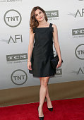 Actress Kathryn Hahn attends the 2014 AFI Life Achievement Award A Tribute to Jane Fonda at the Dolby Theatre on June 5 2014 in Hollywood California...