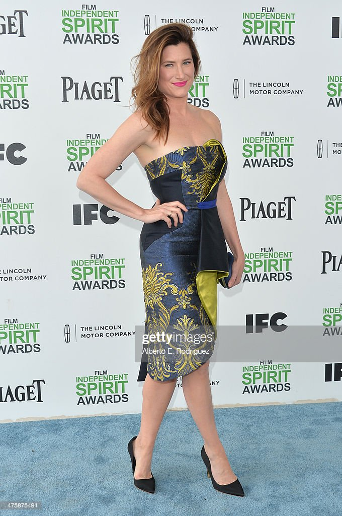 Actress Kathryn Hahn attends the 2014 Film Independent Spirit Awards at Santa Monica Beach on March 1, 2014 in Santa Monica, California.