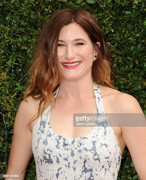 Actress Kathryn Hahn attends the 2015 Creative Arts Emmy Awards at Microsoft Theater on September 12 2015 in Los Angeles California