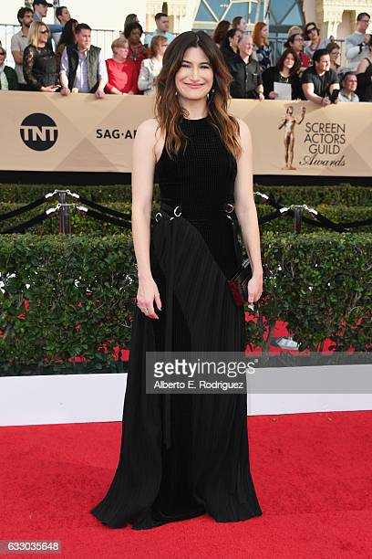 Actress Kathryn Hahn attends the 23rd Annual Screen Actors Guild Awards at The Shrine Expo Hall on January 29 2017 in Los Angeles California