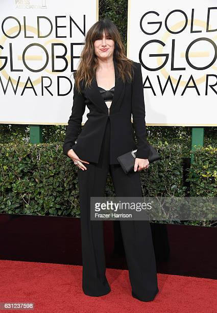 Actress Kathryn Hahn attends the 74th Annual Golden Globe Awards at The Beverly Hilton Hotel on January 8 2017 in Beverly Hills California