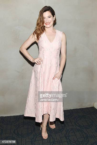 Actress Kathryn Hahn attends the New York premiere of IFC Films' 'The D Train' hosted by The Cinema Society Banana Boat at Landmark's Sunshine Cinema...