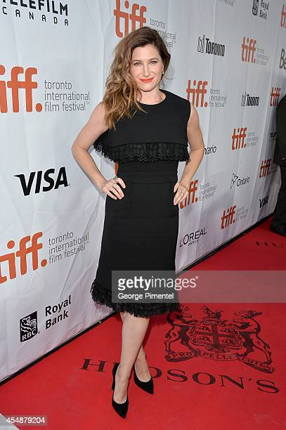 Actress Kathryn Hahn attends the 'This Is Where I Leave You' premiere during the 2014 Toronto International Film Festival at Roy Thomson Hall on...
