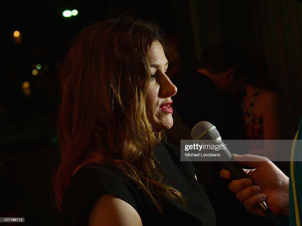 Actress Kathryn Hahn is interviewed during the 'Bad Words' Premiere during the 2014 SXSW Music, Film + Interactive Festival at Topfer Theatre at ZACH on March 7, 2014 in Austin, Texas.