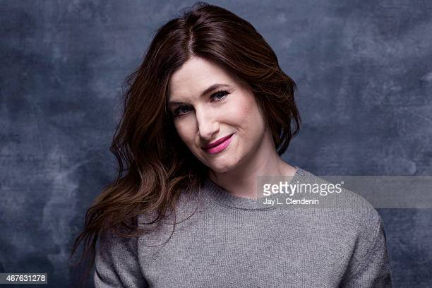 Actress Kathryn Hahn is photographed for Los Angeles Times at the 2015 Sundance Film Festival on January 24 2015 in Park City Utah PUBLISHED IMAGE...