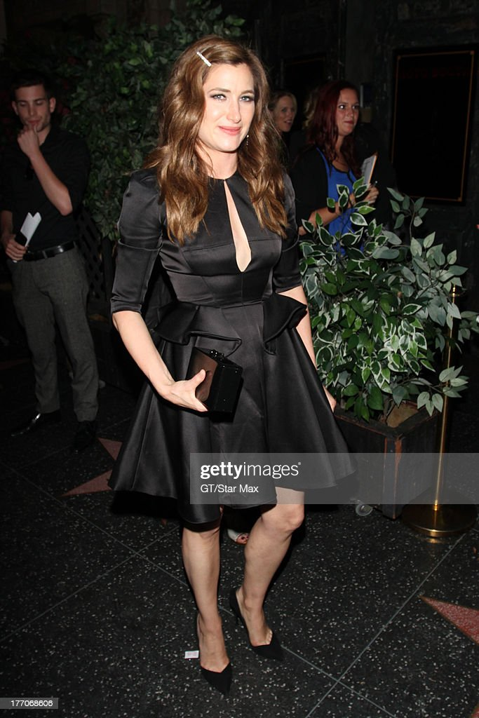 Actress <a gi-track='captionPersonalityLinkClicked' href=/galleries/search?phrase=Kathryn+Hahn&family=editorial&specificpeople=221548 ng-click='$event.stopPropagation()'>Kathryn Hahn</a> is seen on August 19, 2013 in Los Angeles, California.