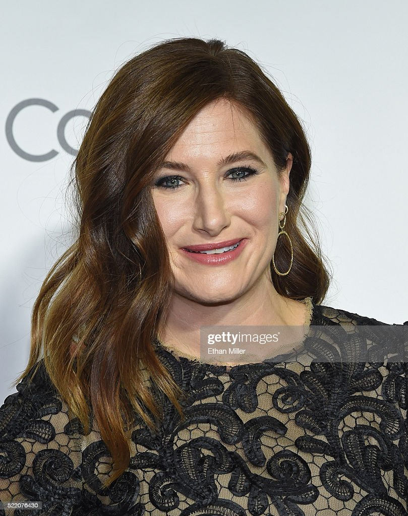 Actress Kathryn Hahn one of the recipients of the Female Stars of the Year Award attends the CinemaCon Big Screen Achievement Awards brought to you...