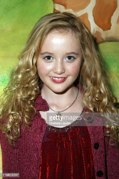 Actress Kathryn Newton attends Baskin Robbins' 'Wrapped with a Bow' Charity Event at Giggles 'n Hugs on December 5 2008 in Los Angeles California