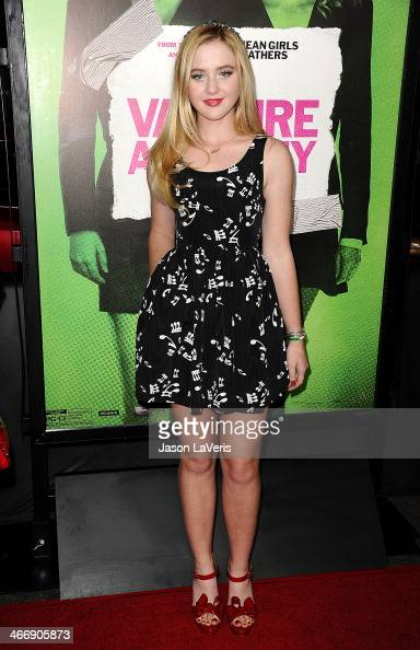 Actress Kathryn Newton attends the premiere of 'Vampire Academy' at Regal Cinemas LA Live on February 4 2014 in Los Angeles California