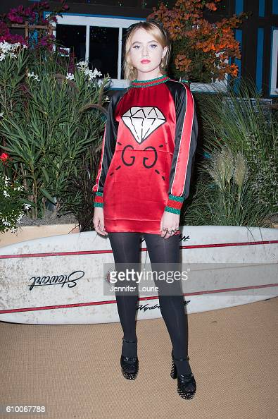 Actress Kathryn Newton attends the Teen Vogue Celebrates 14th Annual Young Hollywood Issue at the Reel Inn on September 23 2016 in Malibu California