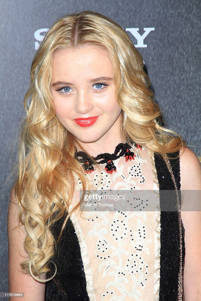 Actress Kathryn Newton attends the world premiere of 'Bad Teacher' at the Ziegfeld Theatre on June 20, 2011 in New York City.