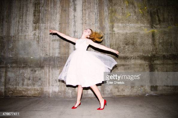 Actress Kathryn Newton is photographed for Self Assignment on December 15 2013 in Los Angeles California