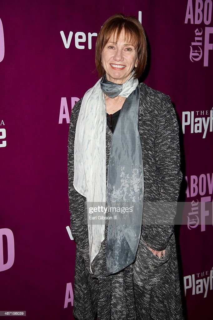 Actress <a gi-track='captionPersonalityLinkClicked' href=/galleries/search?phrase=Kathy+Baker&family=editorial&specificpeople=208781 ng-click='$event.stopPropagation()'>Kathy Baker</a> attends the opening night celebration of the play entitled 'Above the Fold' at Pasadena Playhouse on February 5, 2014 in Pasadena, California.