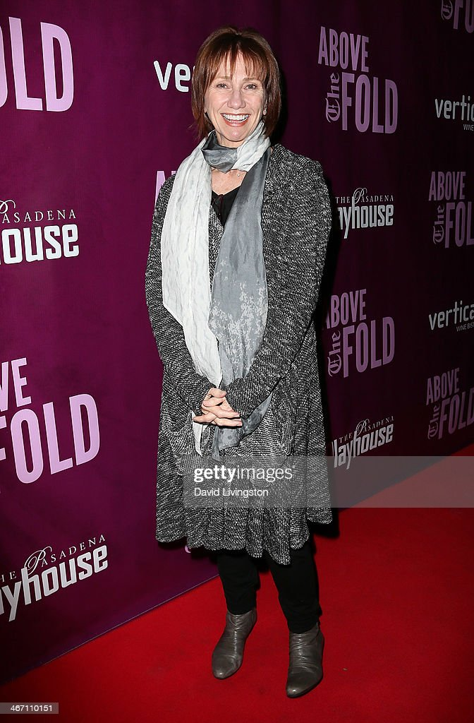 Actress <a gi-track='captionPersonalityLinkClicked' href=/galleries/search?phrase=Kathy+Baker&family=editorial&specificpeople=208781 ng-click='$event.stopPropagation()'>Kathy Baker</a> attends the opening night performance of 'Above the Fold' at the Pasadena Playhouse on February 5, 2014 in Pasadena, California.