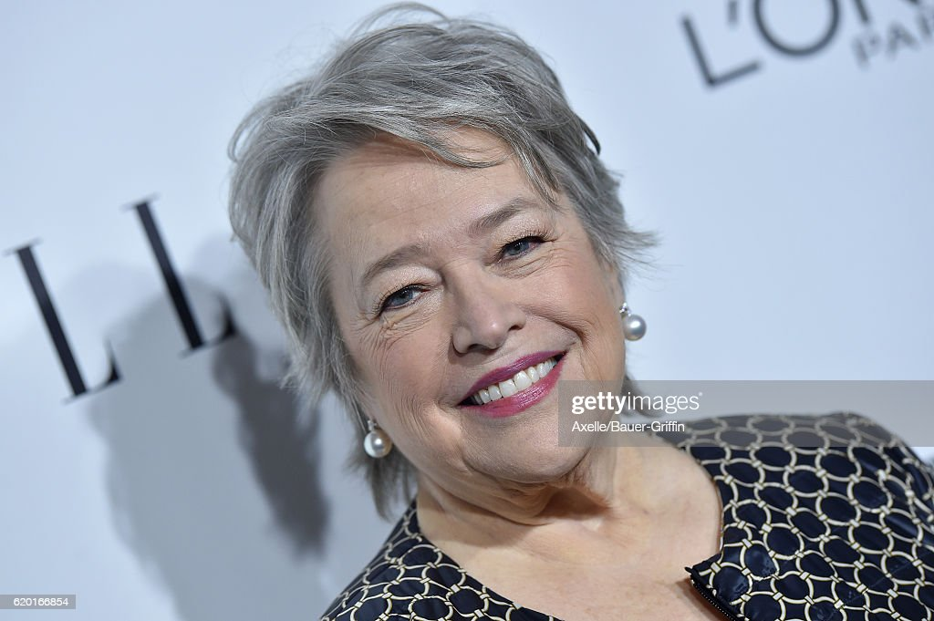 Actress Kathy Bates arrives at the 23rd Annual ELLE Women In Hollywood Awards at Four Seasons Hotel Los Angeles at Beverly Hills on October 24, 2016 in Los Angeles, California.