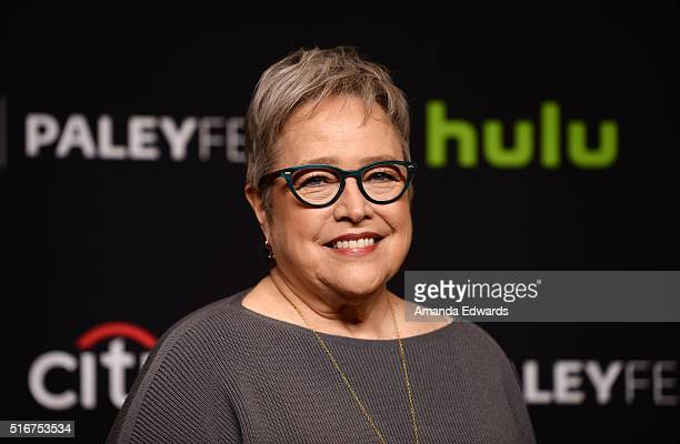 Actress Kathy Bates arrives at The Paley Center For Media's 33rd Annual PaleyFest Los Angeles Closing Night Presentation of 'American Horror Story...