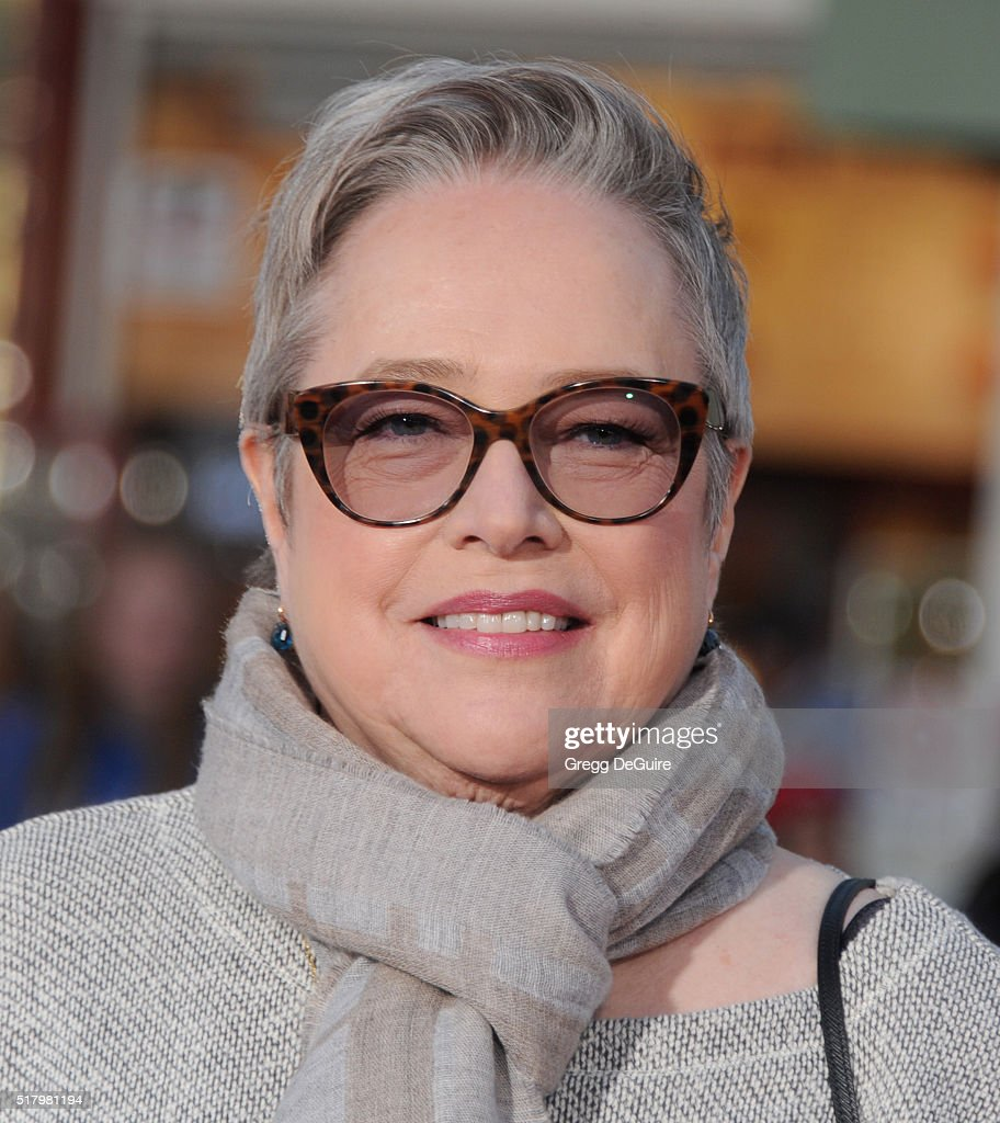 Actress Kathy Bates arrives at the premiere of USA Pictures' 'The Boss' at Regency Village Theatre on March 28 2016 in Westwood California