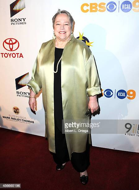 Actress Kathy Bates arrives for the Special Needs Network's 9th Annual 'Evening Under The Stars' A Toast To Old Hollywood held at Sony Studios on...