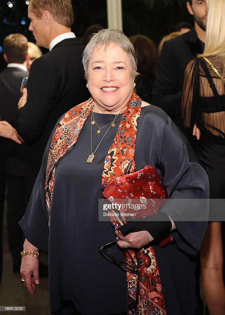 Actress <a gi-track='captionPersonalityLinkClicked' href=/galleries/search?phrase=Kathy+Bates+-+Actor&family=editorial&specificpeople=171565 ng-click='$event.stopPropagation()'>Kathy Bates</a> attends ELLE's 20th Annual Women In Hollywood Celebration at Four Seasons Hotel Los Angeles at Beverly Hills on October 21, 2013 in Beverly Hills, California.