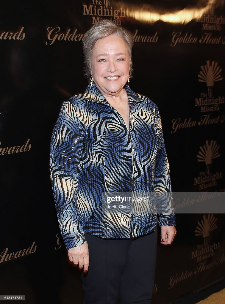 Actress Kathy Bates attends Midnight Mission's Golden Heart Awards Gala at the Beverly Wilshire Four Seasons Hotel on October 6, 2016 in Beverly Hills, California.