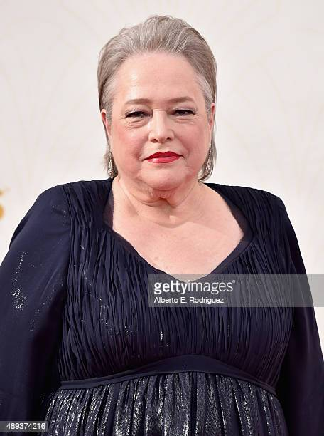 Actress Kathy Bates attends the 67th Emmy Awards at Microsoft Theater on September 20 2015 in Los Angeles California 25720_001