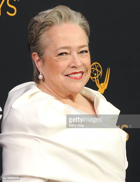 Actress Kathy Bates attends the 68th Primetime Emmy Awards at Microsoft Theater on September 18 2016 in Los Angeles California