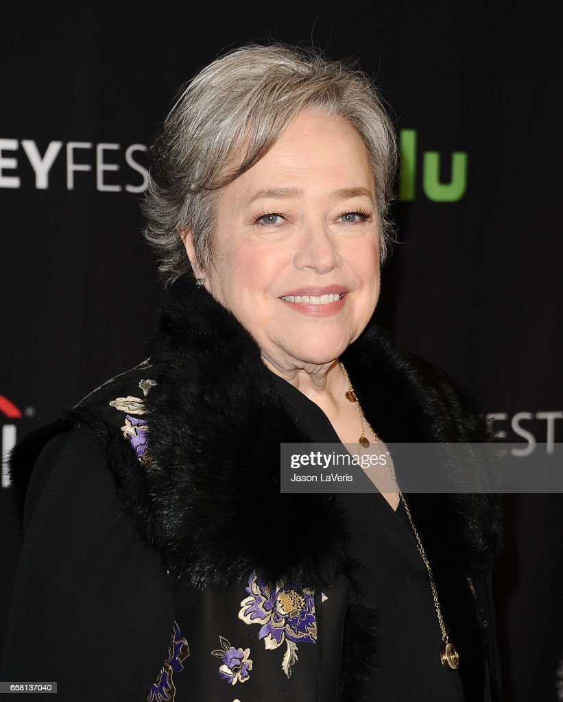 Actress Kathy Bates attends the 'American Horror Story: Roanoke' event at the Paley Center for Media's 34th annual PaleyFest at Dolby Theatre on March 26, 2017 in Hollywood, California.