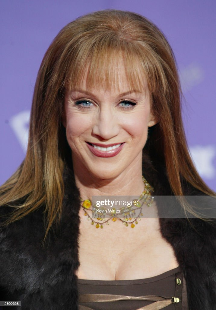 Actress <a gi-track='captionPersonalityLinkClicked' href=/galleries/search?phrase=Kathy+Griffin&family=editorial&specificpeople=203161 ng-click='$event.stopPropagation()'>Kathy Griffin</a> attends the 2003 Billboard Music Awards at the MGM Grand Garden Arena December 10, 2003 in Las Vegas, Nevada. The 14th annual ceremony airs live tonight on FOX 8:00-10:00 PM ET Live/PT.