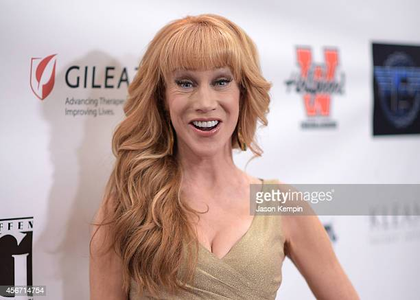 Actress Kathy Griffin attends the 2014 Best In Drag Show at the Orpheum Theatre on October 5 2014 in Los Angeles California