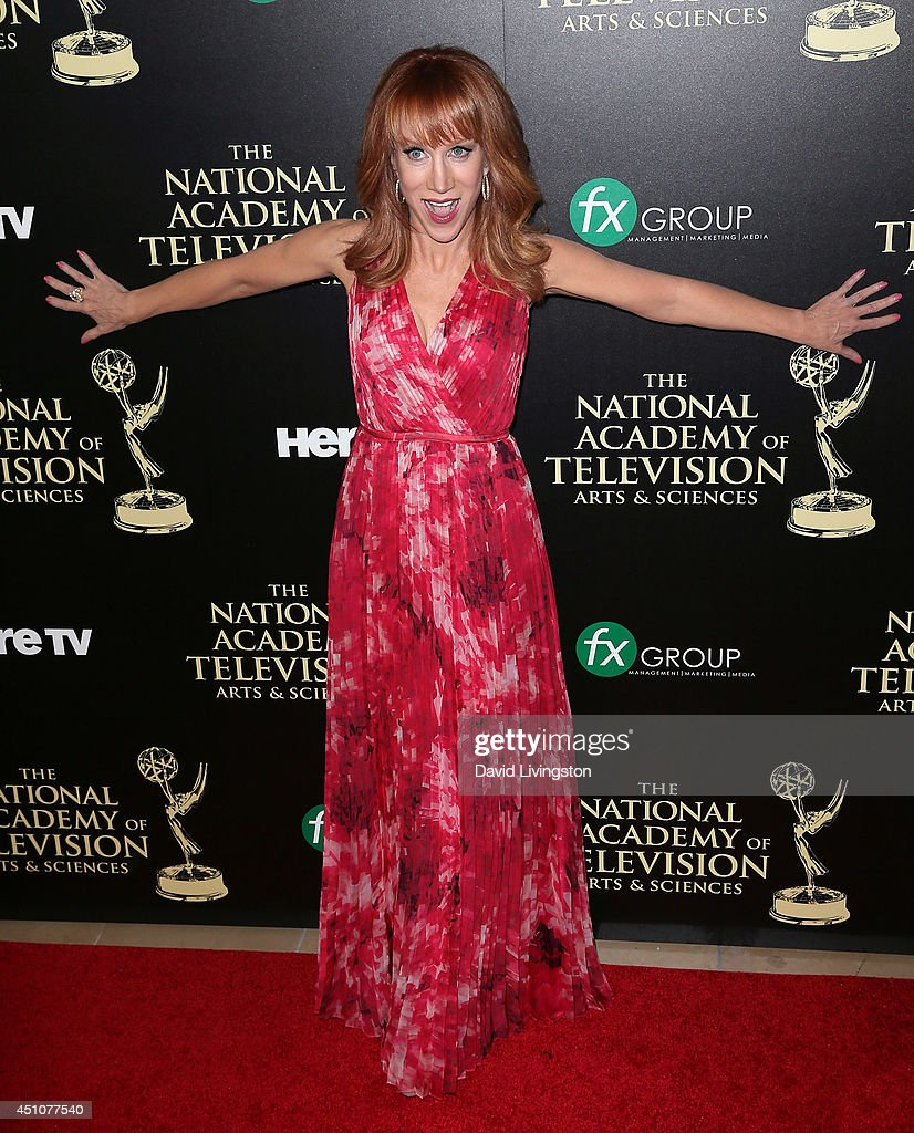 Actress Kathy Griffin attends the 41st Annual Daytime Emmy Awards at The Beverly Hilton Hotel on June 22, 2014 in Beverly Hills, California.