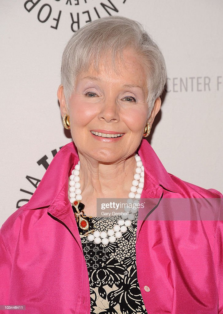 Actress Kathy Hays attends a farewell to cast of 'As The World Turns' at The Paley Center for Media on August 18, 2010 in New York City.