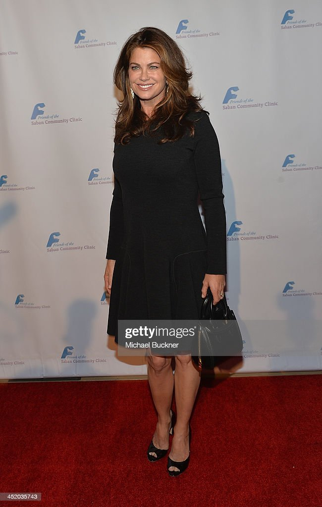 Actress <a gi-track='captionPersonalityLinkClicked' href=/galleries/search?phrase=Kathy+Ireland&family=editorial&specificpeople=213018 ng-click='$event.stopPropagation()'>Kathy Ireland</a> arrives at the 37th Annual Saban Community Clinic Gala at The Beverly Hilton Hotel on November 25, 2013 in Beverly Hills, California.