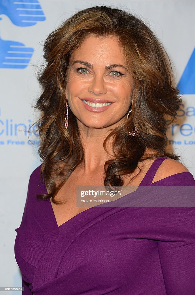 Actress Kathy Ireland arrives at The Saban Free Clinic's Gala Honoring ABC Entertainment Group President Paul Lee and Bob Broder at The Beverly Hilton Hotel on November 19, 2012 in Beverly Hills, California.