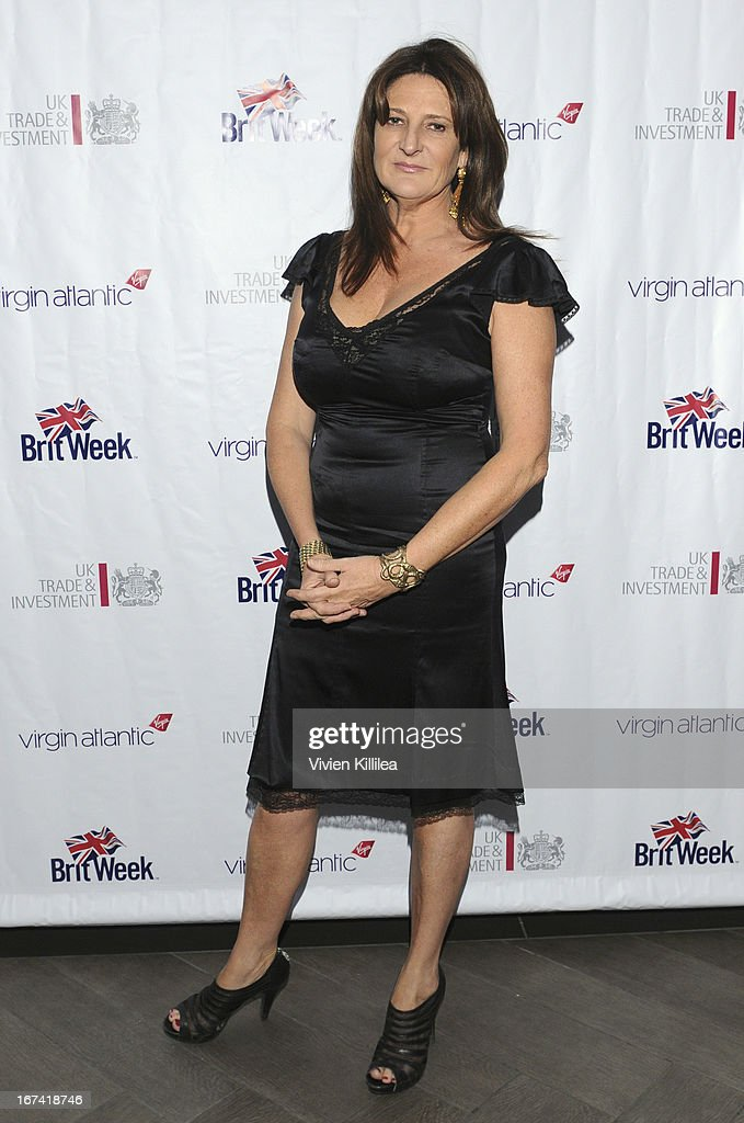Actress Kathy Ireland attends 4th Annual BritWeek UKTI Business Innovation Awards at Four Seasons Hotel Los Angeles at Beverly Hills on April 24, 2013 in Beverly Hills, California.