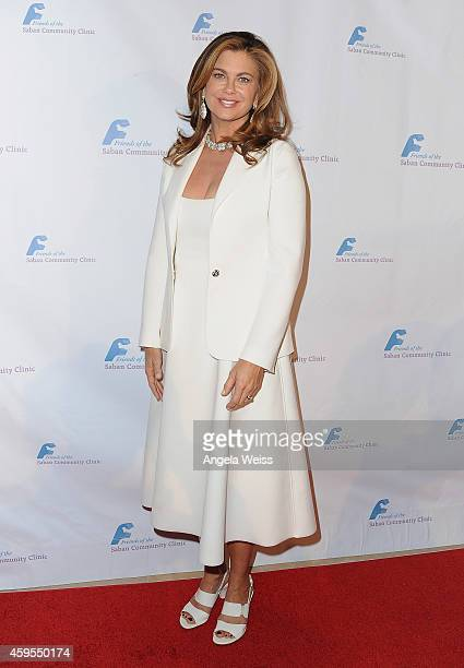 Actress Kathy Ireland attends Saban Community Clinic's 38th Annual Dinner at The Beverly Hilton Hotel on November 24 2014 in Beverly Hills California
