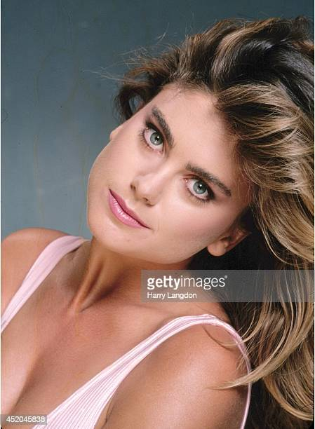 Actress Kathy Ireland poses for a portrait in 1983 in Los Angeles California
