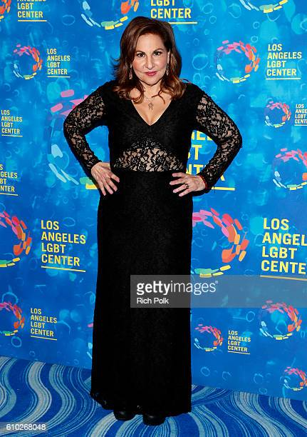 Actress Kathy Najimy attends the Los Angeles LGBT Center 47th Anniversary Gala Vanguard Awards at Pacific Design Center on September 24 2016 in West...