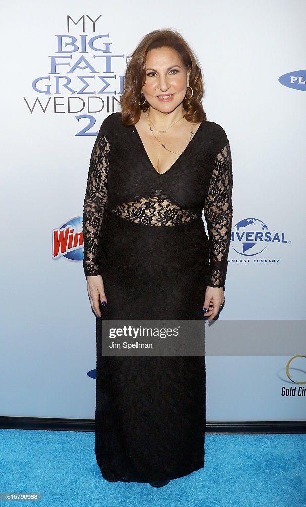 Actress Kathy Najimy attends the 'My Big Fat Greek Wedding 2' New York premiere at AMC Loews Lincoln Square 13 theater on March 15, 2016 in New York City.