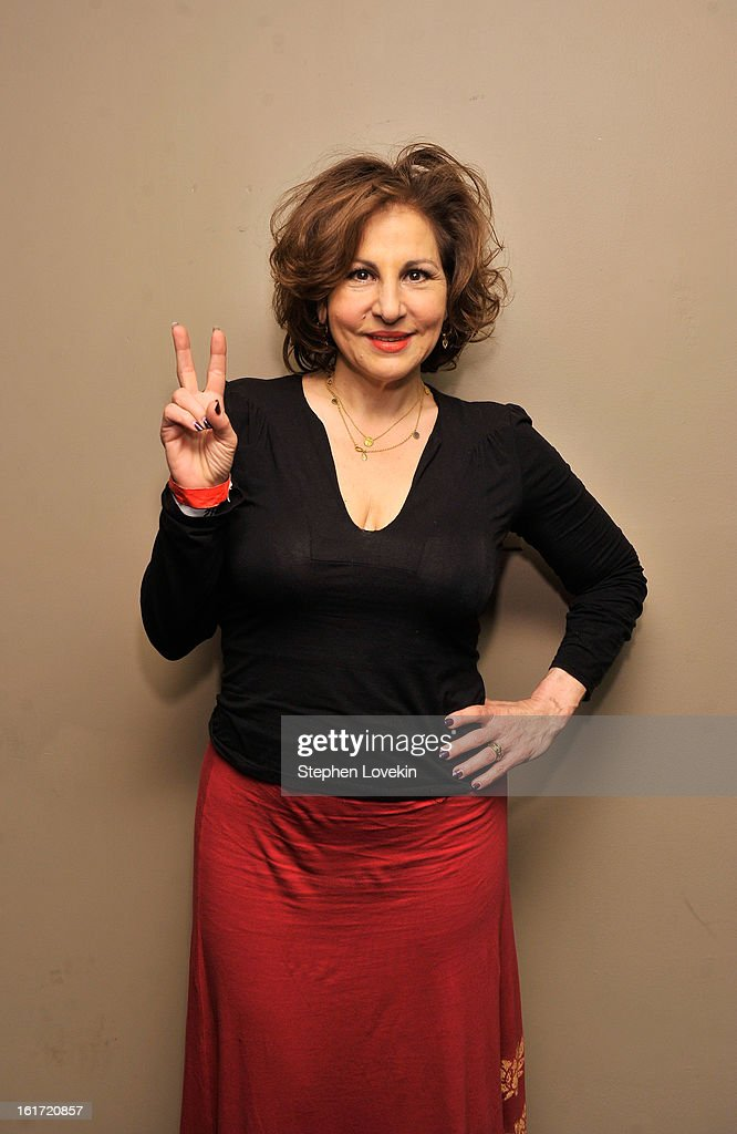 Actress <a gi-track='captionPersonalityLinkClicked' href=/galleries/search?phrase=Kathy+Najimy&family=editorial&specificpeople=213513 ng-click='$event.stopPropagation()'>Kathy Najimy</a> attends V-Day And One Billion Rising's RISE NYC at Hammerstein Ballroom on February 14, 2013 in New York City.