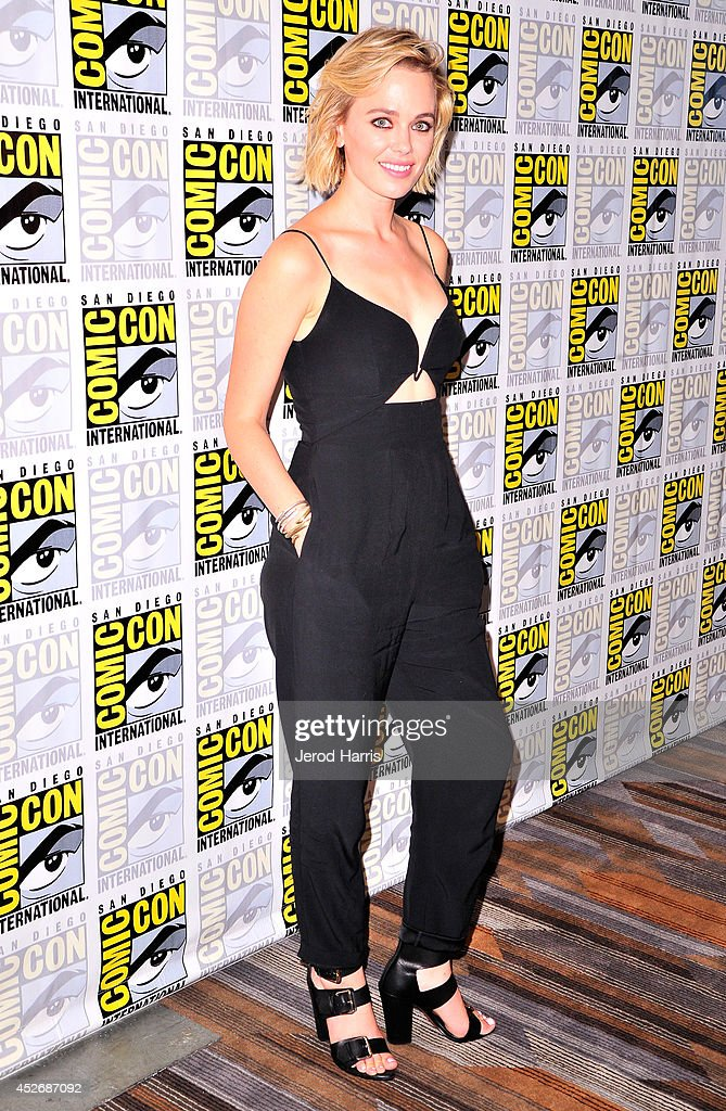 Actress Katia Winter attends the 'Sleepy Hollow' Press Line during Comic-Con International 2014 at Hilton Bayfront on July 25, 2014 in San Diego, California.