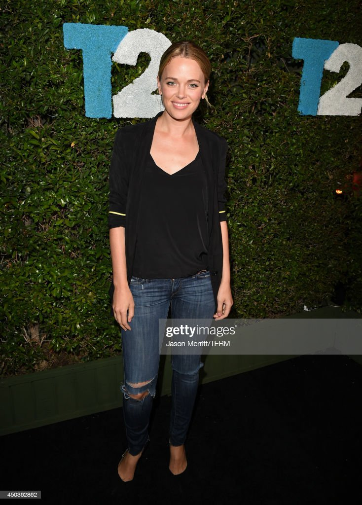 Actress <a gi-track='captionPersonalityLinkClicked' href=/galleries/search?phrase=Katia+Winter&family=editorial&specificpeople=4204378 ng-click='$event.stopPropagation()'>Katia Winter</a> attends the Take-Two E3 Kickoff Party at Cecconi's Restaurant on June 9, 2014 in Los Angeles, California.