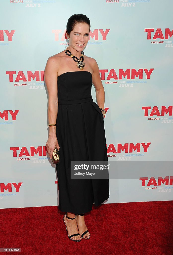 Actress <a gi-track='captionPersonalityLinkClicked' href=/galleries/search?phrase=Katie+Aselton&family=editorial&specificpeople=6457083 ng-click='$event.stopPropagation()'>Katie Aselton</a> arrives at the 'Tammy' - Los Angeles Premiere at TCL Chinese Theatre on June 30, 2014 in Hollywood, California.