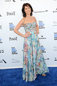 Actress Katie Aselton arrives for the 2016 Film Independent Spirit Awards held on February 27 2016 in Santa Monica California