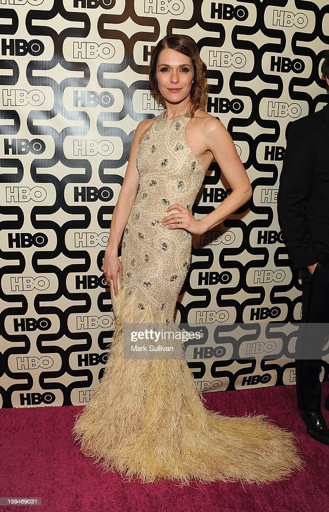 Actress Katie Aselton attends HBO's 70th Annual Golden Globes after party at Circa 55 Restaurant on January 13, 2013 in Los Angeles, California.
