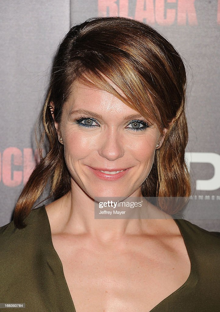 Actress Katie Aselton attends the 'Black Rock' Premiere held at ArcLight Hollywood on May 8, 2013 in Hollywood, California.