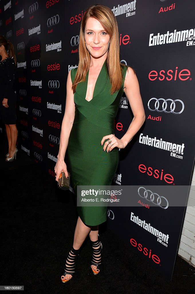 Actress Katie Aselton attends the Entertainment Weekly Pre-SAG Party hosted by Essie and Audi held at Chateau Marmont on January 26, 2013 in Los Angeles, California.